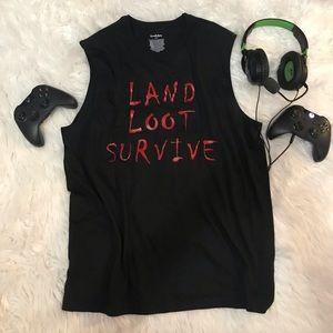 Black tank- can put custom name on back